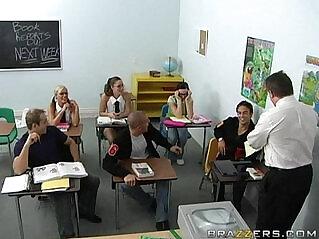Melissa Lauren Big Tits at School